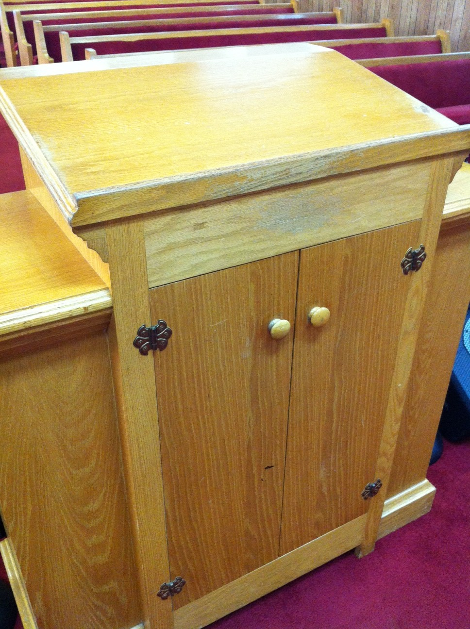 diy pulpit plans