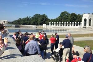 storming the memorial