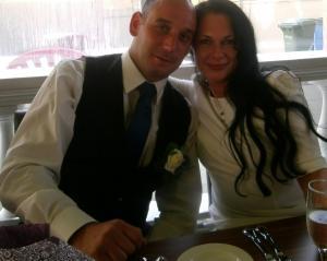 Carlos and Rebecca (my sister) Gomes