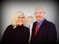 Lauren Huckabee, Mr. Monkey, and Me