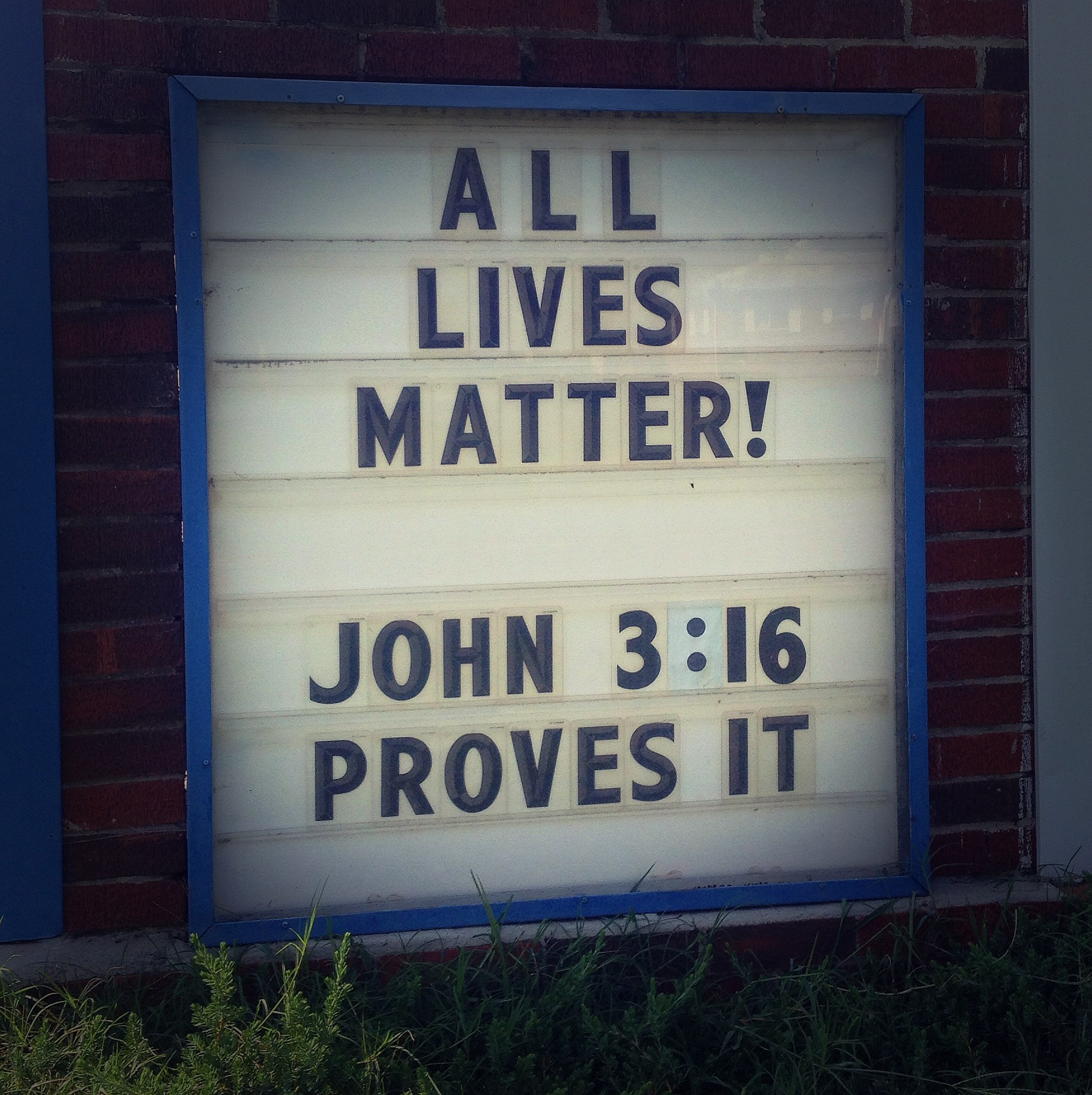 All Lives Matter The Sermon The Recovering Legalist
