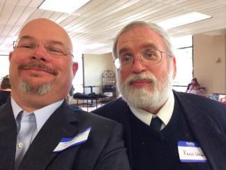 me and Kevin Woodruff