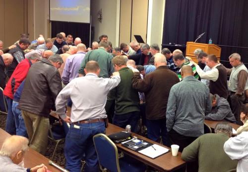 praying pastors