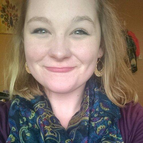 College girl selfie.