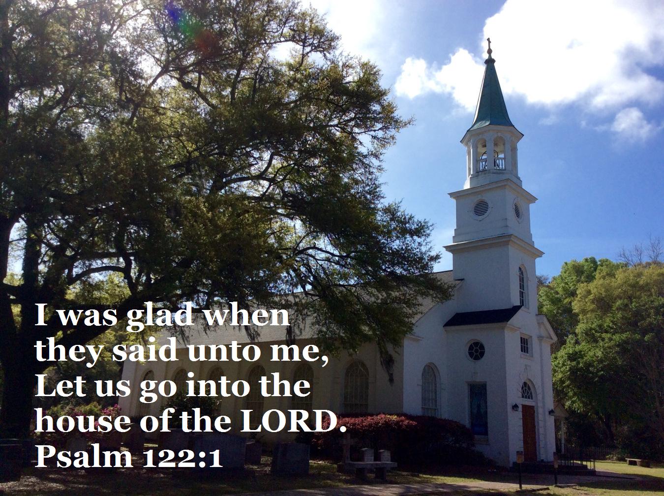 church glad to go