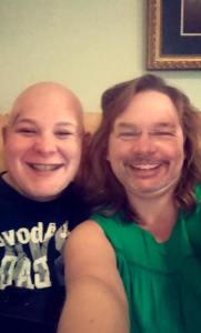 Face-swapping with my daughter :-)
