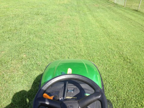 just mow